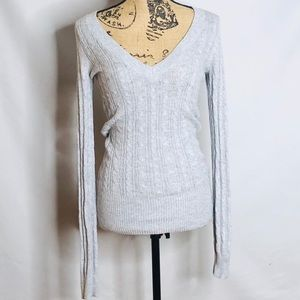 AMERICAN EAGLE OUTFITTERS grey sweater size small